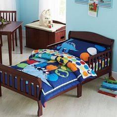 Carter's® Prehistoric Pals 4Piece Toddler Bedding Set This Best Toddler Bedroom Set Inspiration Design
