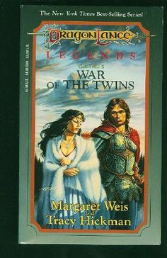 War of the Twins (Dragonlance Legends, book 2) by Margaret Weis and Tracy Hickman