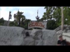 Adventureland & Pirates Of The Caribbean onride at Disneyland Paris Sept...