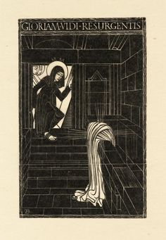 Eric Gill 'Resurrection', 1917