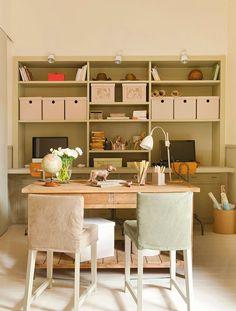 Estudio en orden  Utiliza archivadores del mismo tipo para que todo tenga una unidad y se vea ordenado. Puedes decorarlos o forrarlos para d...