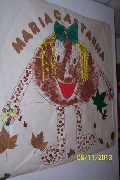 Maria castanha Halloween, Handicraft, Ronald Mcdonald, Autumn Activities, Daycare Rooms, Sint Maarten, Daycare Ideas, Autumn Leaves, Cute Ideas