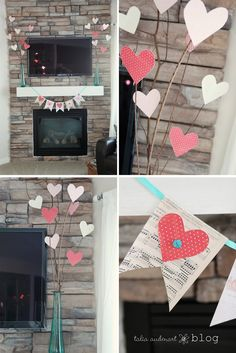 Pieces of Me: valentine's decor & a birthday party