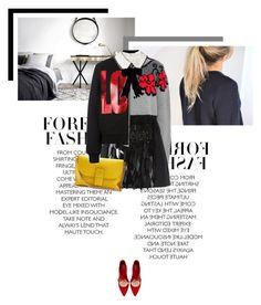 """Magra Consolazione"" by veronicamastalli ❤ liked on Polyvore featuring Givenchy, STELLA McCARTNEY, N°21, Loewe and Zara"