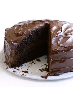 Classic Chocolate Layer Cake | Addicted to chocolate? Try one of these sweet treats.