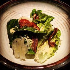 #babygem #caesarsalad #anchovies #parmesan #grandlakefarmersmarket #oaklandfood #bayareafood #hellayummy #sffood