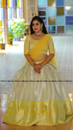 Lehenga Saree Design, Half Saree Lehenga, Lehenga Gown, Lehenga Designs, Brocade Lehenga, Floral Lehenga, Designer Anarkali Dresses, Designer Bridal Lehenga, Indian Bridal Outfits