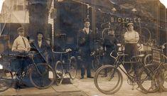 c. 1890s-1920s Bicycles
