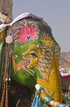 'The Elephant Festival', Jaipur.