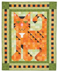 Quiltmaker's Purr Patch, July/August '11 issue, quiltandsewshop.com