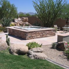 hot tubs and pools landscaping | manufactured hot tub can be ...