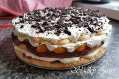 Ovocná mascarpone torta No Bake Cake, Recipies, Baking, Ethnic Recipes, Food, Mascarpone, Recipes, Bakken, Eten