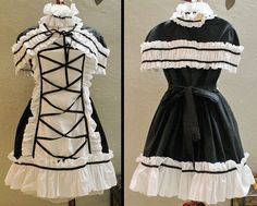 This Loli dress was custom-tailored for me. It's pretty much the best-fitting dress I own.