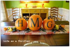 Life as a Thrifter: Pumpkins