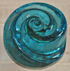 turquoise fused glass cabinet hardware knobs dresser drawer pulls