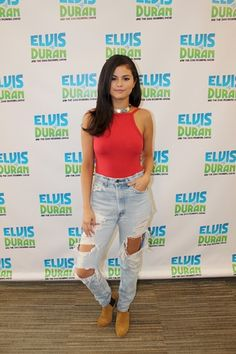 """Selena Gomez promotes """"Good For You"""" on Elvis Duran & The Morning Show in New York, NY. June 22, 2015."""
