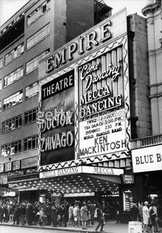 August The Empire cinema and the Mecca Ballroom at Leicester Square, London. (Photo by Evening Standard/Getty Images) Vintage London, Old London, Cinema Theatre, Arts Theatre, Remember Day, Dancing Day, Piccadilly Circus, London History, London Clubs