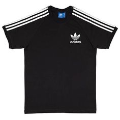 adidas SPO T-Shirt (€27) ❤ liked on Polyvore featuring tops, t-shirts, adidas, adidas t shirt, adidas tee and adidas tops