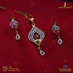 Diamond dewdrops to sparkle. Get in touch with us on Beaded Jewelry Designs, Gold Earrings Designs, Gold Jewellery Design, Necklace Designs, Gold Filled Jewelry, Gold Jewelry, Jewelery, Gold Necklace, Gold Mangalsutra Designs