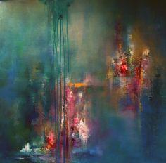 """""""Let The Wild Flowers Grow"""" Acrylic, 60x60 cm"""
