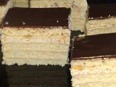 Prajitura cu foi de zahar ars si crema cu ness Romanian Desserts, Appetizers For Party, Easy Desserts, Macarons, Vanilla Cake, Tiramisu, Ale, Caramel, Bakery
