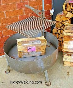 Removable Fire Pit Swing Away Grill 22 Quot X 22 Quot X 3 8