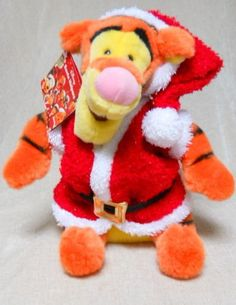 Tigger Dressed As Santa Plush Animal NWT NEW Disney Store Winnie the Pooh Tiger Disney http://www.amazon.com/dp/B016S9ZCSQ/ref=cm_sw_r_pi_dp_N6w7wb0MF4ZKF