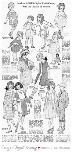04.06.10 {1920 childrens clothes} by elegant musings, via Flickr
