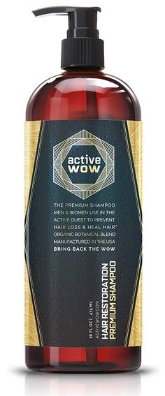 Looking for the perfect Active Wow Argan Oil & Organic Botanicals Anti Hair-Loss Shampoo - 16 Fluid Oz? Please click and view this most popular Active Wow Argan Oil & Organic Botanicals Anti Hair-Loss Shampoo - 16 Fluid Oz. Anti Hair Loss Shampoo, Hair Growth Shampoo, New Hair Growth, Argan Oil Hair, Hair Oil, Wow Hair Products, Beauty Products, Oil For Hair Loss