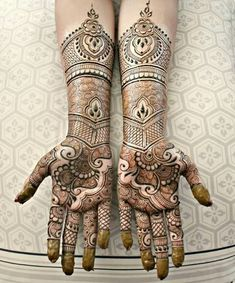 Mehndi Designs for navratri Festival in India