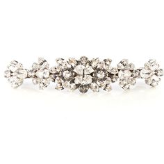 Dolce & Gabbana Crystal-embellished hair clip found on Polyvore featuring accessories, hair accessories, hair clip accessories and barrette hair clips