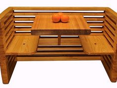 Recycled Bowling Alleys Make Awesome Wood Furniture  #eco #design