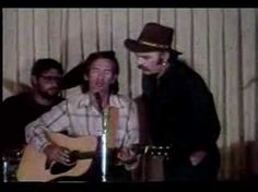 "Townes Van Zandt & Blaze Foley sing ""Snowin' on Raton"" (1984)"