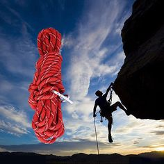 10m #safety #climbing tree rock sling rappelling rope #auxiliary cord 15kn 2 hook,  View more on the LINK: http://www.zeppy.io/product/gb/2/262421384978/