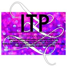 #ITP Low Platelet Count, Low Platelets, Normal Blood, Chronic Illness, Immune System, Disorders, Diabetes, Evans, Health Fitness