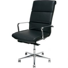 Campbell Office Chair, Black | Memoky.com