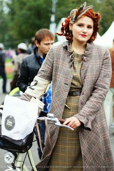 Love this look!!  The life you live with photography: Tweed ride