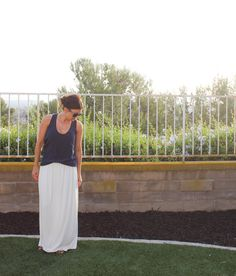 jersey_maxi_skirt_diy_111 Best tutorial I've seen for a DIY maxi skirt!!  This will be my next project!!