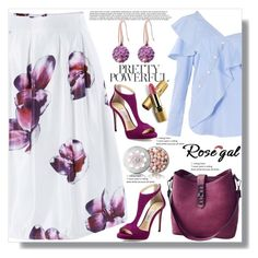 """""""Rosegal 57"""" by ramiza-rotic ❤ liked on Polyvore featuring FAIR+true, Jimmy Choo, Guerlain and Avon"""