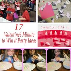 17 Valentine's minute to win it party ideas