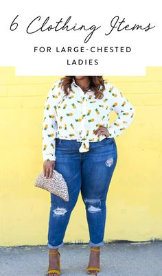 6 Clothing Items Every Lady with Big Boobs Should Own via @PureWow