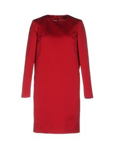 JIL SANDER NAVY Women's Short dress Garnet 6 US