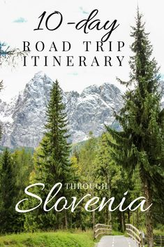 Best European Road Trips - 10 Days in Slovenia - Just a Pack - Fancy a road trip through Slovenia? With an area of just over Slovenia is pretty small and - Road Trip Packing, Road Trip Hacks, Road Trip Usa, Visit Slovenia, Slovenia Travel, Car Travel, Europe Travel Tips, Travel Guides, Best European Road Trips