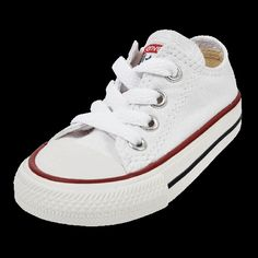 CONVERSE CHUCK TAYLOR ALL STAR LOW (INFANTS) now available at Foot Locker Foot Locker, Converse Chuck Taylor All Star, Infants, Kicks, Sneakers, Shoes, Women, Style, Fashion