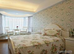 Pastoral minimalist bedroom design renderings 2015