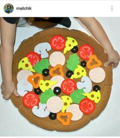 Фетровая пицца