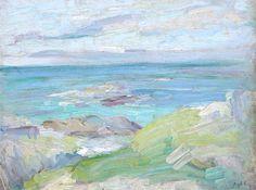 Iona Study, 1929 - Samuel Peploe.(Style: Post-Impressionism)