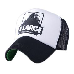 wholesale XLARGE summer male and female trucker hats outdoor casual Hip-hop street mesh hats sport caps unisex print baseball caps 3023|9f8d5f02-3be9-4ca8-9e82-fc41f7c23061|Baseball Caps