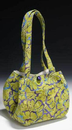 The Multi-Size Two Hour Tulip Purse Sewing Pattern