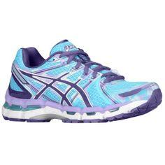 ASICS® Gel - Kayano 19 - Women's - Running - Shoes - Turquoise/Grape/White